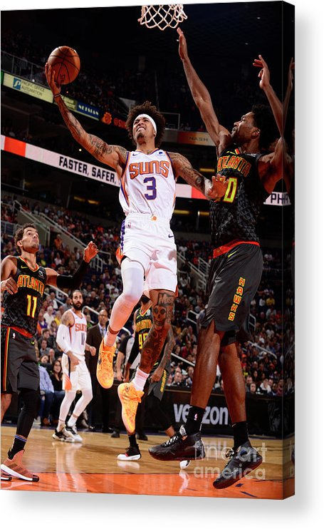 Nba Pro Basketball Acrylic Print featuring the photograph Kelly Oubre by Barry Gossage