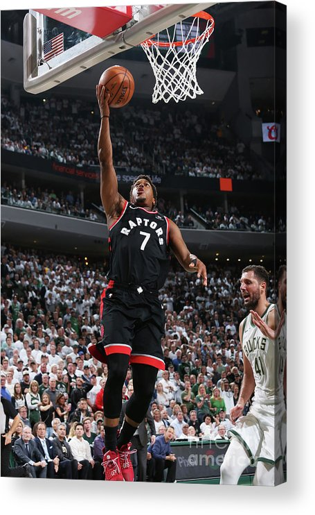 Playoffs Acrylic Print featuring the photograph Kyle Lowry by Gary Dineen