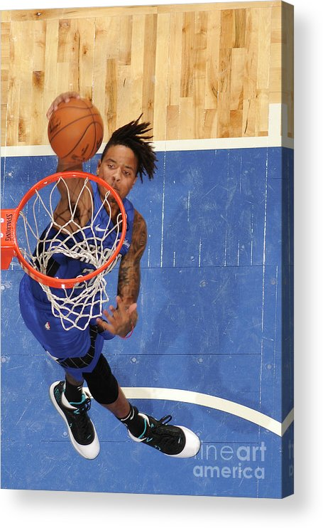 Nba Pro Basketball Acrylic Print featuring the photograph Markelle Fultz by Fernando Medina