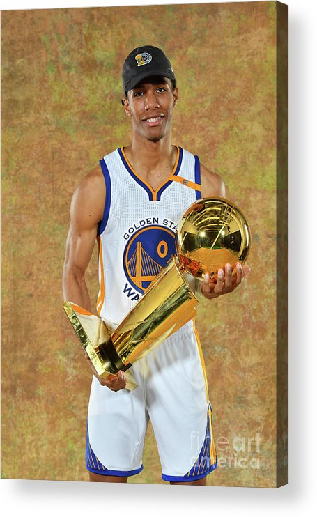 Playoffs Acrylic Print featuring the photograph Patrick Mccaw by Jesse D. Garrabrant