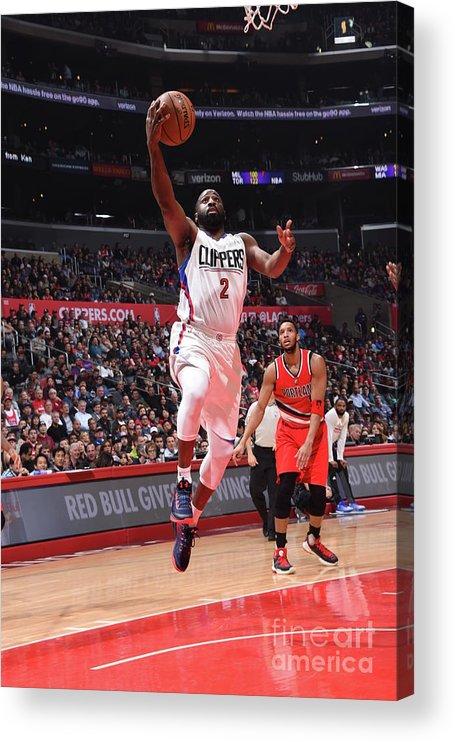 Nba Pro Basketball Acrylic Print featuring the photograph Raymond Felton by Andrew D. Bernstein