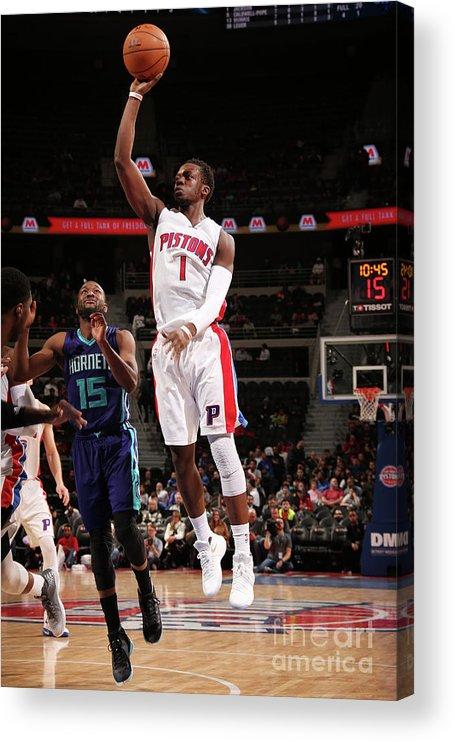 Nba Pro Basketball Acrylic Print featuring the photograph Reggie Jackson by Brian Sevald