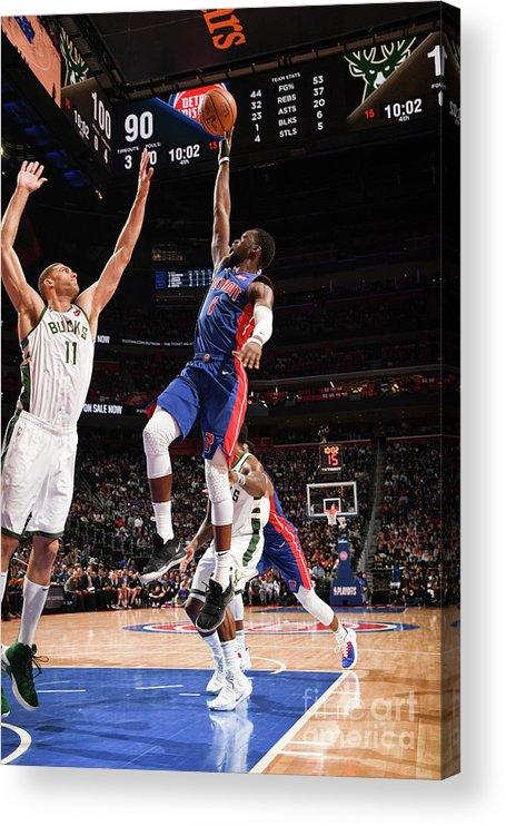 Playoffs Acrylic Print featuring the photograph Reggie Jackson by Chris Schwegler