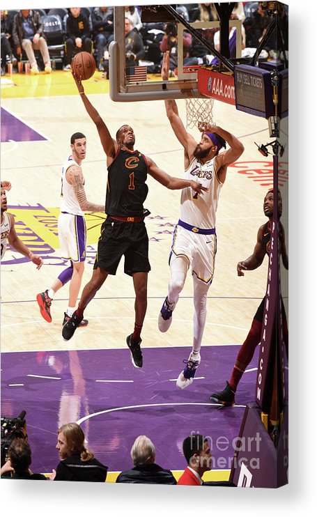 Nba Pro Basketball Acrylic Print featuring the photograph Rodney Hood by Andrew D. Bernstein