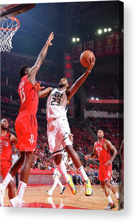 Playoffs Acrylic Print featuring the photograph Royce O'neale by Bill Baptist