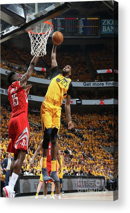 Playoffs Acrylic Print featuring the photograph Royce O'neale by Melissa Majchrzak
