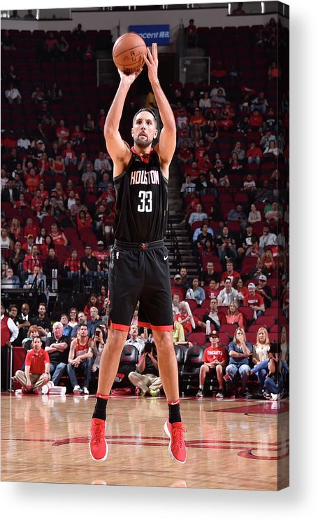 Nba Pro Basketball Acrylic Print featuring the photograph Ryan Anderson by Bill Baptist
