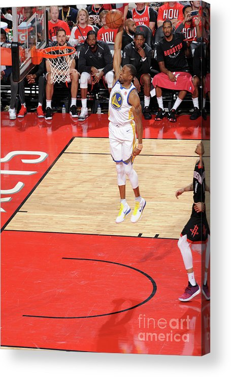 Playoffs Acrylic Print featuring the photograph Andre Iguodala by Andrew D. Bernstein