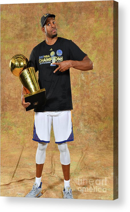 Playoffs Acrylic Print featuring the photograph Andre Iguodala by Jesse D. Garrabrant