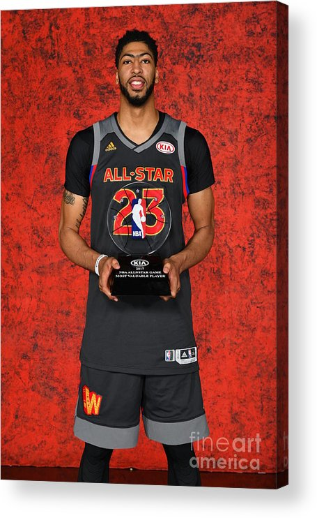 Event Acrylic Print featuring the photograph Anthony Davis by Jesse D. Garrabrant