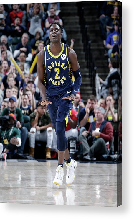 Nba Pro Basketball Acrylic Print featuring the photograph Darren Collison by Ron Hoskins