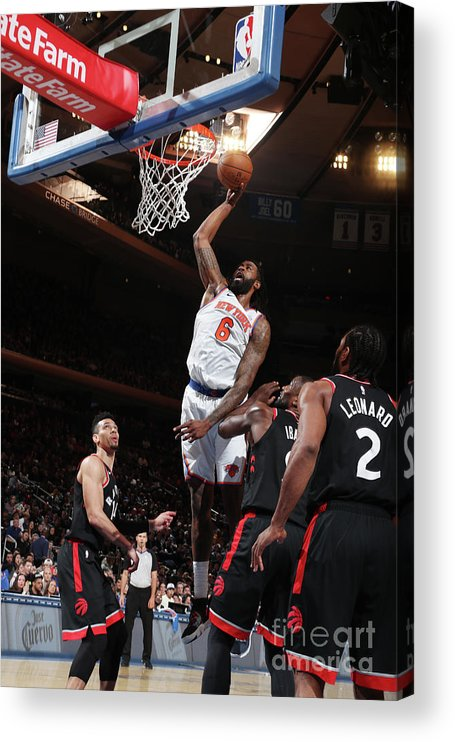 Nba Pro Basketball Acrylic Print featuring the photograph Deandre Jordan by Nathaniel S. Butler