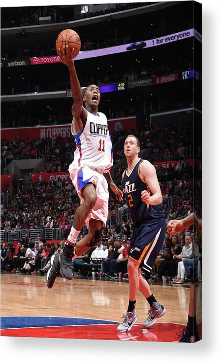 Nba Pro Basketball Acrylic Print featuring the photograph Jamal Crawford by Andrew D. Bernstein