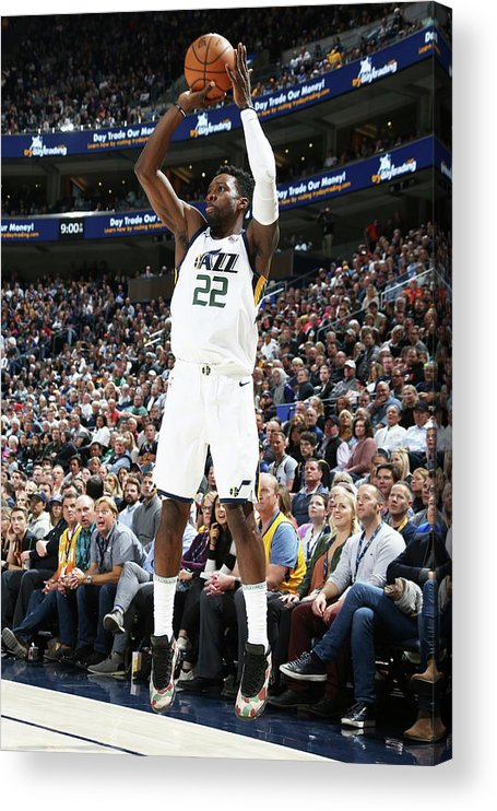 Nba Pro Basketball Acrylic Print featuring the photograph Jeff Green by Melissa Majchrzak