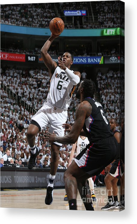 Playoffs Acrylic Print featuring the photograph Joe Johnson by Melissa Majchrzak