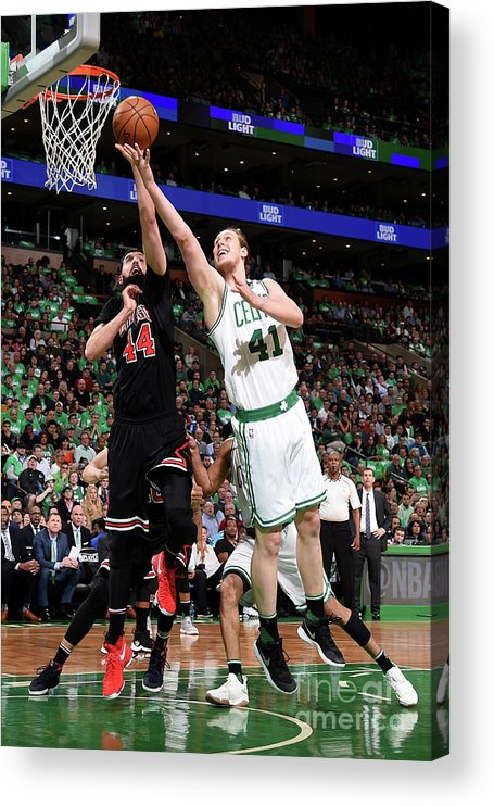 Playoffs Acrylic Print featuring the photograph Kelly Olynyk by Brian Babineau