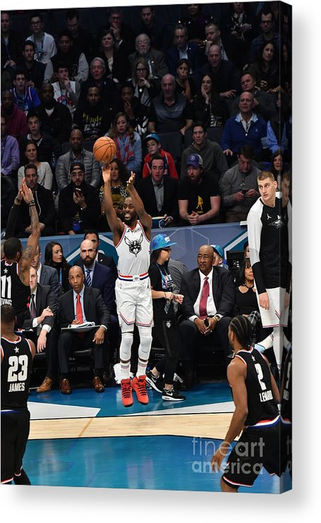 Kemba Walker Acrylic Print featuring the photograph Kemba Walker by Jesse D. Garrabrant