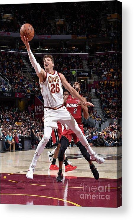 Nba Pro Basketball Acrylic Print featuring the photograph Kyle Korver by David Liam Kyle