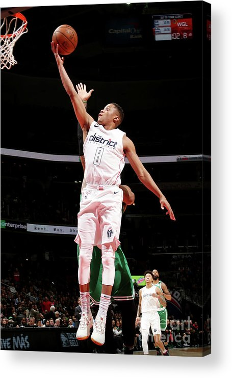 Nba Pro Basketball Acrylic Print featuring the photograph Tim Frazier by Ned Dishman