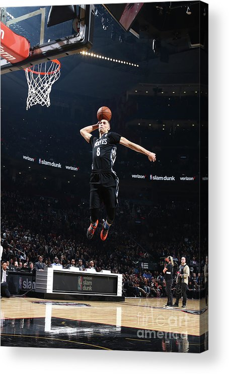 Event Acrylic Print featuring the photograph Zach Lavine by Nathaniel S. Butler