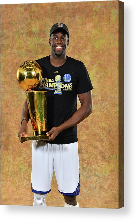Playoffs Acrylic Print featuring the photograph Draymond Green by Jesse D. Garrabrant