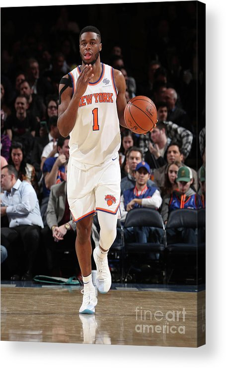 Sports Ball Acrylic Print featuring the photograph Emmanuel Mudiay by Nathaniel S. Butler