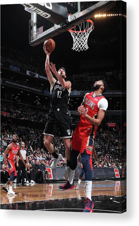 Nba Pro Basketball Acrylic Print featuring the photograph Joe Harris by Nathaniel S. Butler