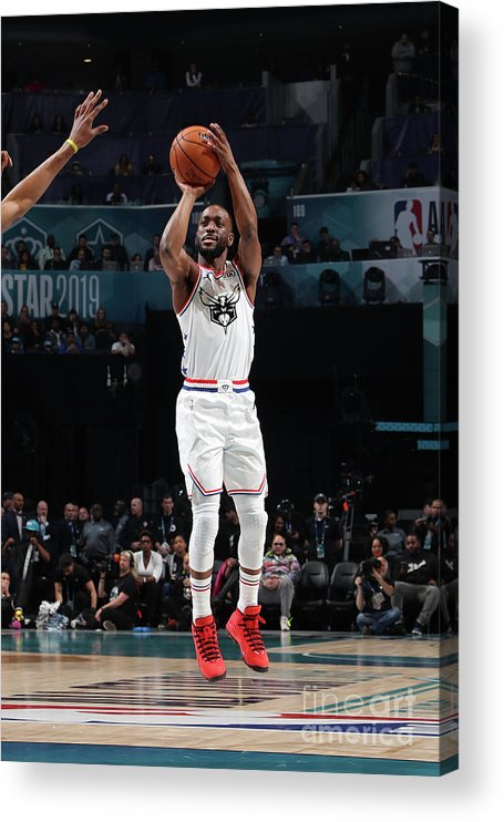 Kemba Walker Acrylic Print featuring the photograph Kemba Walker by Nathaniel S. Butler