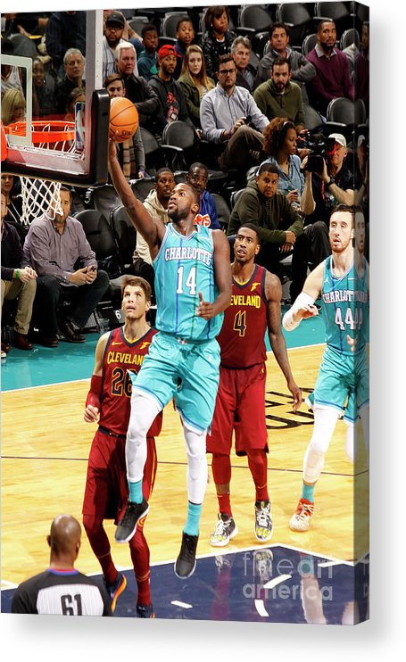 Nba Pro Basketball Acrylic Print featuring the photograph Michael Kidd-gilchrist by Kent Smith