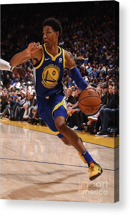 Nba Pro Basketball Acrylic Print featuring the photograph Patrick Mccaw by Noah Graham