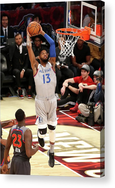 Event Acrylic Print featuring the photograph Paul George by Layne Murdoch