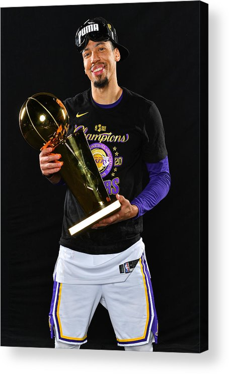 Playoffs Acrylic Print featuring the photograph Danny Green by Jesse D. Garrabrant