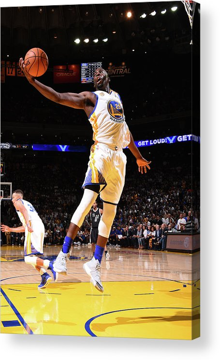 Nba Pro Basketball Acrylic Print featuring the photograph Draymond Green by Andrew D. Bernstein