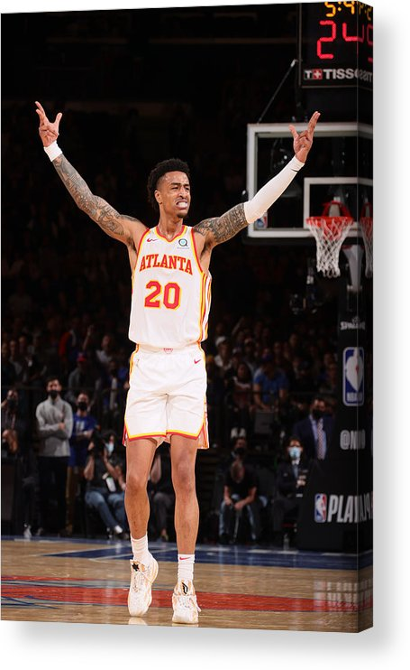 Playoffs Acrylic Print featuring the photograph John Collins by Nathaniel S. Butler