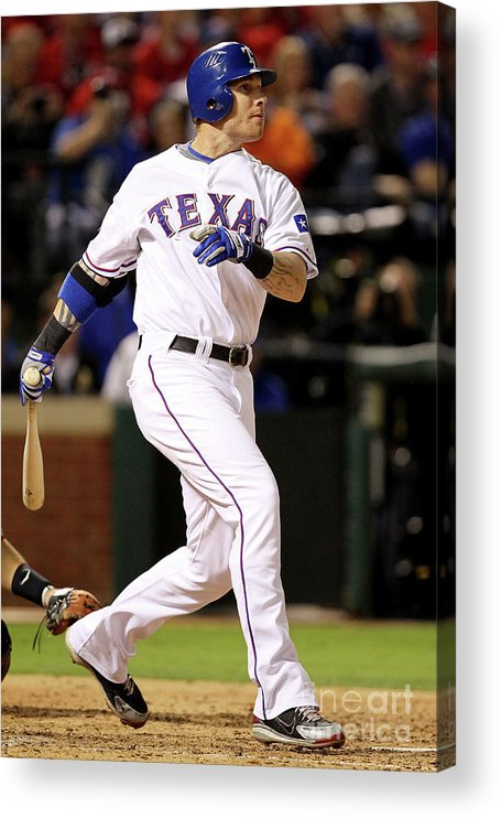 People Acrylic Print featuring the photograph Josh Hamilton by Ronald Martinez