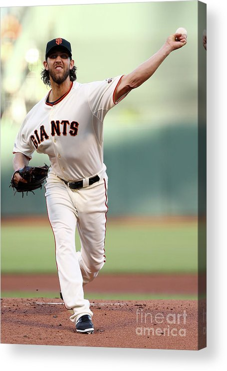 San Francisco Acrylic Print featuring the photograph Madison Bumgarner by Elsa