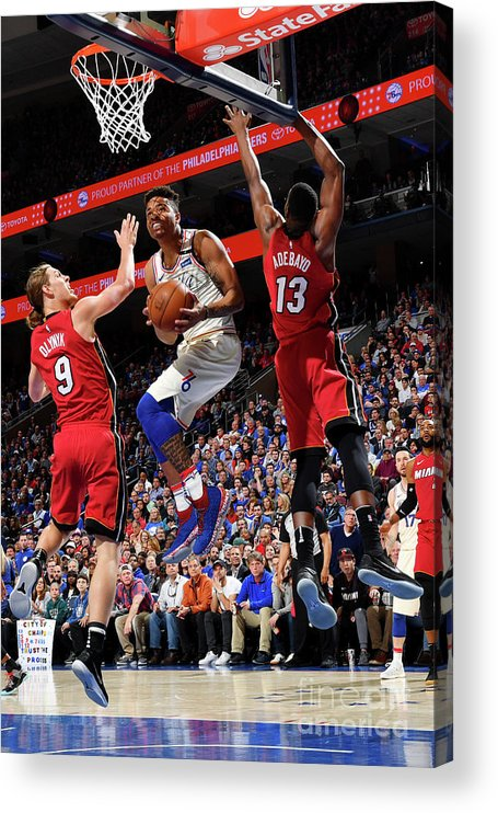 Playoffs Acrylic Print featuring the photograph Markelle Fultz by Jesse D. Garrabrant