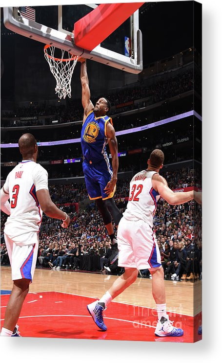 Nba Pro Basketball Acrylic Print featuring the photograph Andre Iguodala by Andrew D. Bernstein