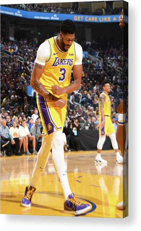 San Francisco Acrylic Print featuring the photograph Anthony Davis by Andrew D. Bernstein