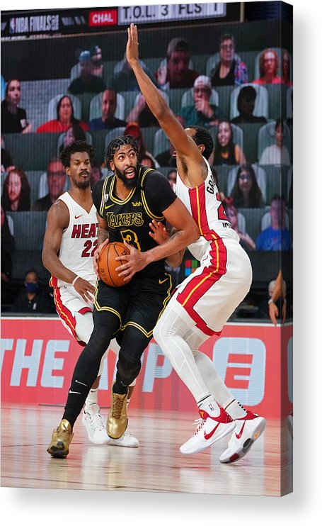 Playoffs Acrylic Print featuring the photograph Anthony Davis by Jesse D. Garrabrant