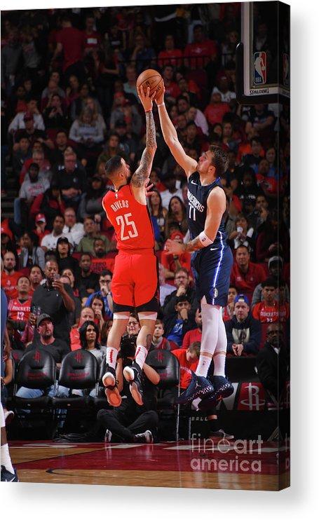 Nba Pro Basketball Acrylic Print featuring the photograph Austin Rivers by Bill Baptist