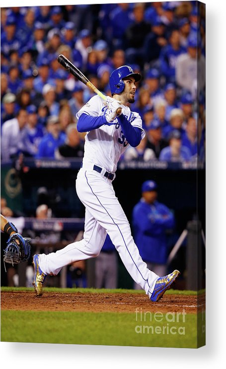 People Acrylic Print featuring the photograph Eric Hosmer by Jamie Squire