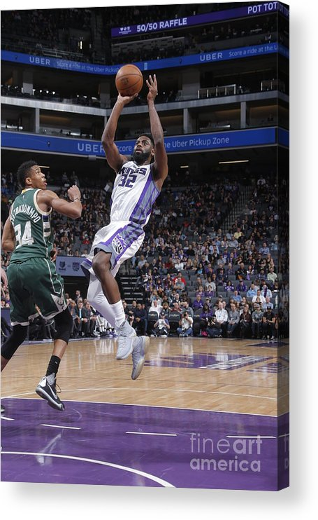 Nba Pro Basketball Acrylic Print featuring the photograph Tyreke Evans by Rocky Widner