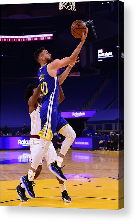 San Francisco Acrylic Print featuring the photograph Stephen Curry by Noah Graham