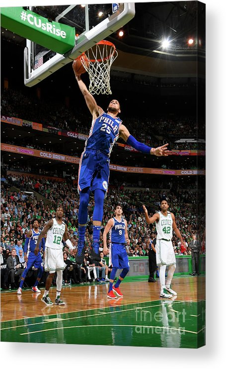 Playoffs Acrylic Print featuring the photograph Ben Simmons by Brian Babineau