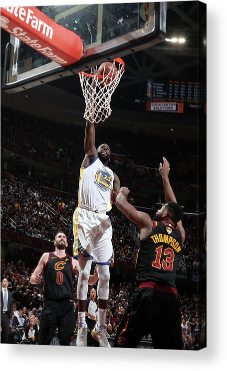 Playoffs Acrylic Print featuring the photograph Draymond Green by Nathaniel S. Butler