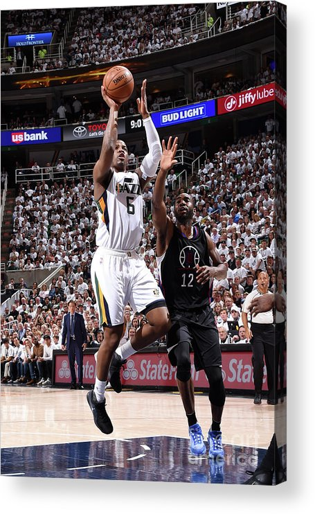 Playoffs Acrylic Print featuring the photograph Joe Johnson by Andrew D. Bernstein
