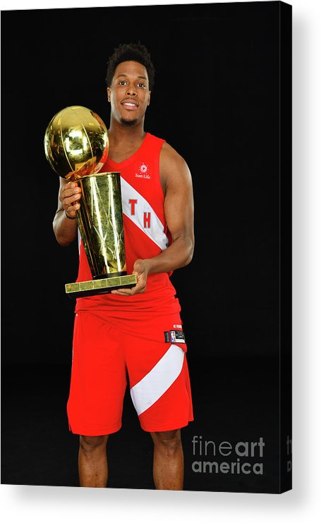 Playoffs Acrylic Print featuring the photograph Kyle Lowry by Jesse D. Garrabrant