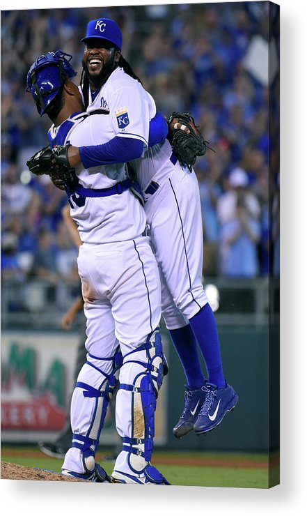 Salvador Perez Diaz Acrylic Print featuring the photograph Salvador Perez by Ed Zurga