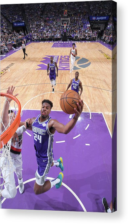 Nba Pro Basketball Acrylic Print featuring the photograph Buddy Hield by Rocky Widner